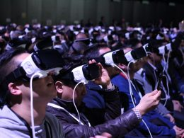 People using VR headset