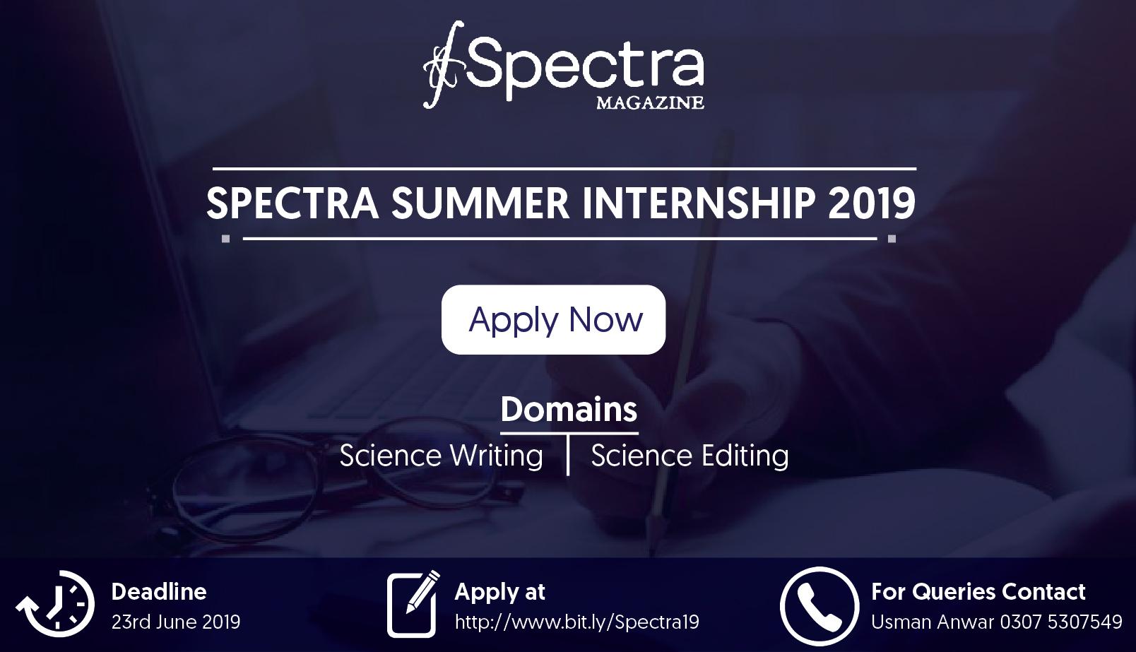 Spectra Internship Program